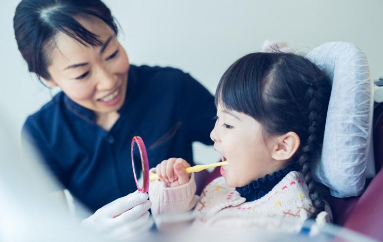 虫歯・歯周病予防のイメージ